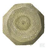 Dřevěný kůl Octo Wood - průřez