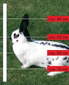 elektrické ohradníky pro králíky