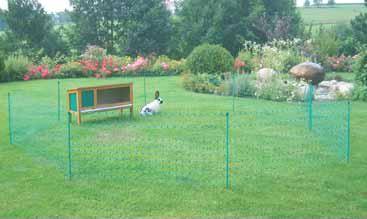 sítě pro králíky